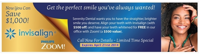 Serenity Invisalign Coupon2